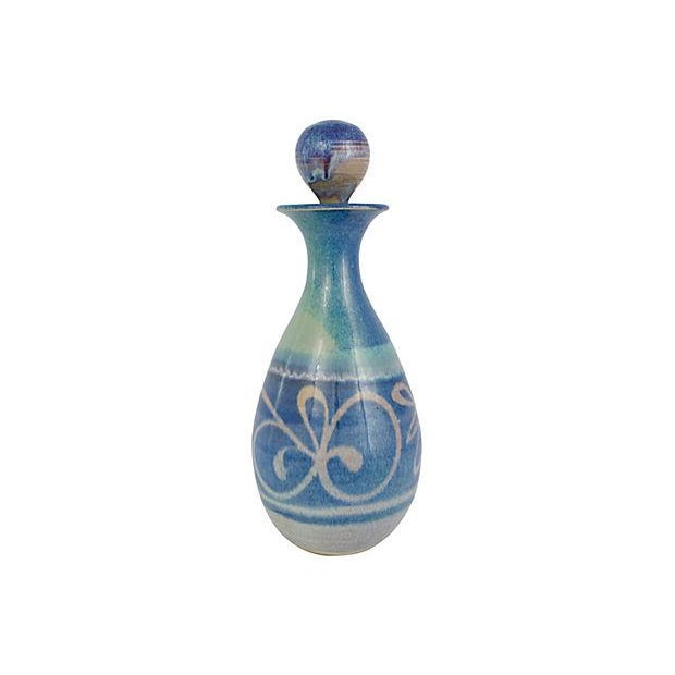 Handmade Pottery Decanter - Image 2 of 7