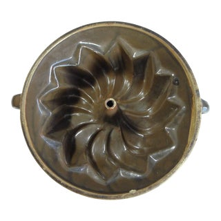 Antique 19th Century Food Cake Mold For Sale