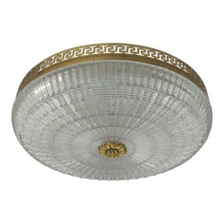 Neoclassical French Flush Mount For Sale