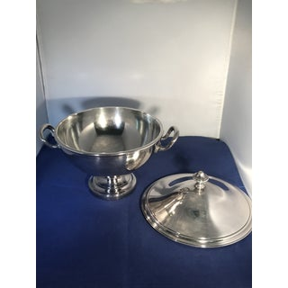 1920s Vintage German Gebruder Brothers Silver Plate Covered Bowl Preview