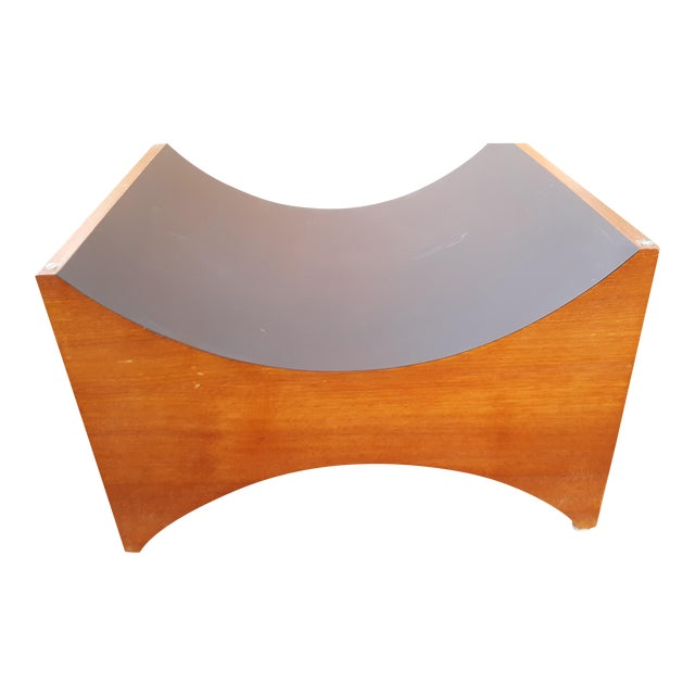 Danish Modern Teak Coffee Table Base by R S Associates For Sale