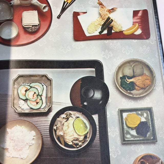 Green The Cooking of Japan 1972 Book For Sale - Image 8 of 13