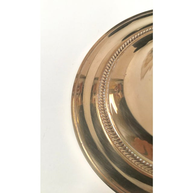 Brass Vintage Brass Candle Holders - Set of 3 For Sale - Image 7 of 8