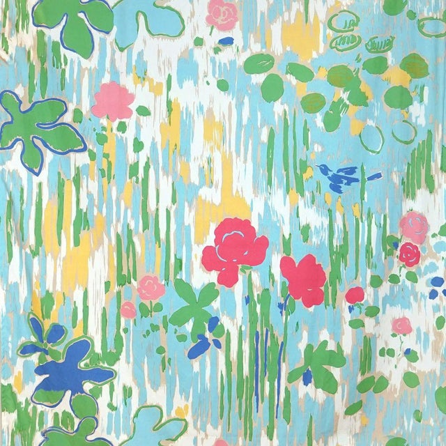 Transitional Scalamandre La Fenetre Ouverte Fabric For Sale - Image 3 of 3