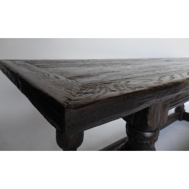 Custom Baroque Style Console Table For Sale In Los Angeles - Image 6 of 11