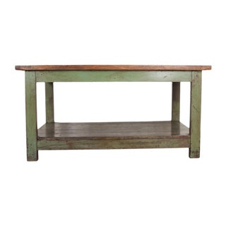 French 19th Century Provincial Walnut Work Table For Sale