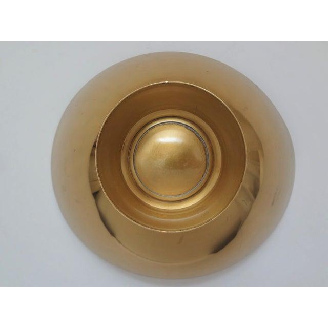 Mid 20th Century Mid-Century Modern Gorham Donald Colflesh Brass Enamel Bowl For Sale - Image 5 of 10