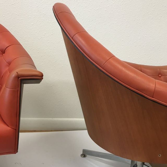 4320 Chairs by M Baughman for Thayer Coggin - a Pair - Image 8 of 11
