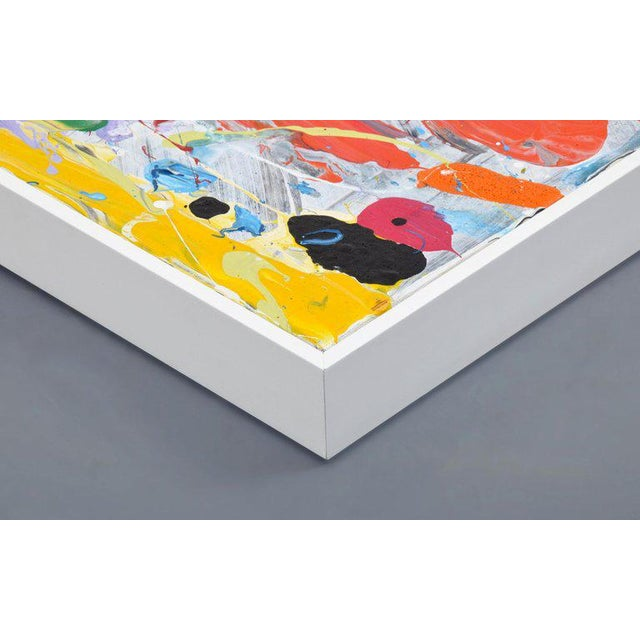 1980s Abstract Painting by John Seery For Sale - Image 9 of 10