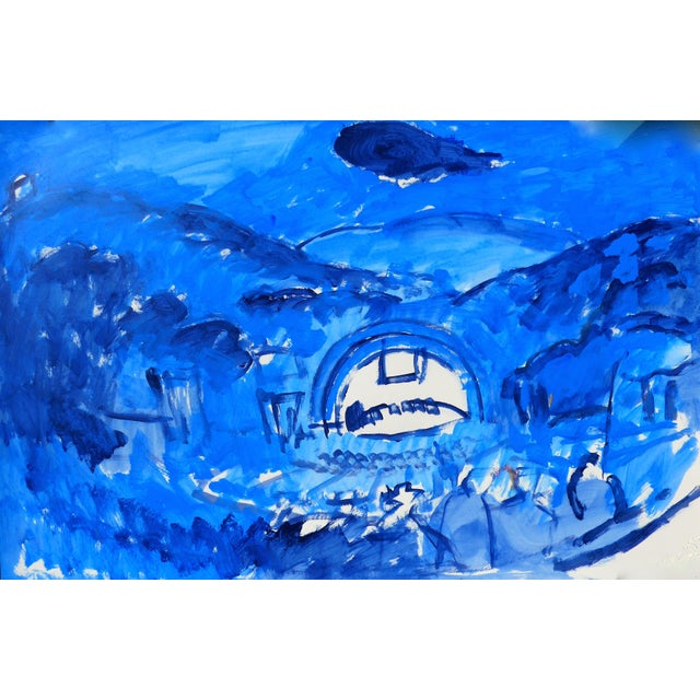 Hollywood Bowl Summer Night Concert Painting - Image 2 of 5