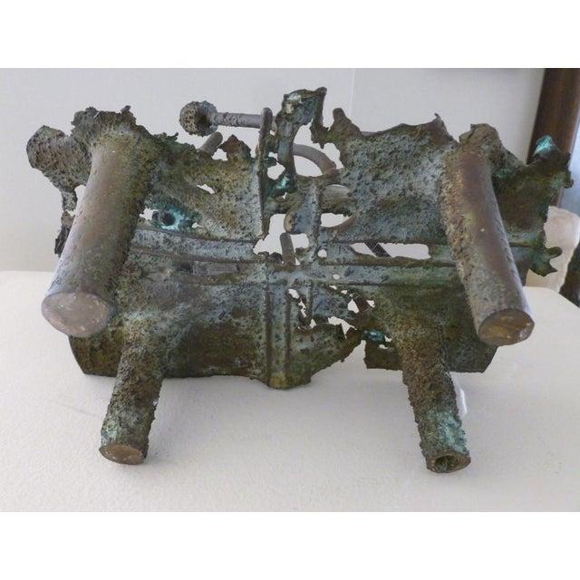 Early Rare Bronze Modernist Sculpture by Shinkichi Tajiri For Sale In Miami - Image 6 of 8