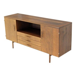 Mid-Century Modern Paul McCobb Planner Group Solid Birch Credenza For Sale