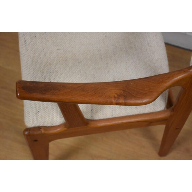 Mid-Century Teak Side Chair - Image 11 of 11