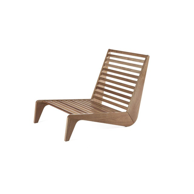 ATRA Ala Mahogany Bench Outdoor Furniture by Atra For Sale - Image 4 of 5