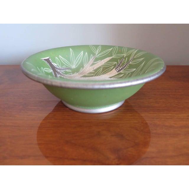 1950s Waylande Gregory Ceramic Bowl For Sale - Image 5 of 7