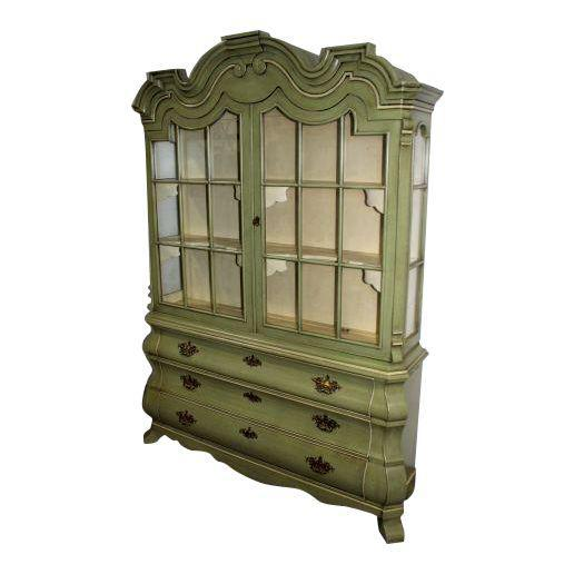Dorothy Draper Henredon Viennese Collection Display Cabinet For Sale - Image 11 of 11