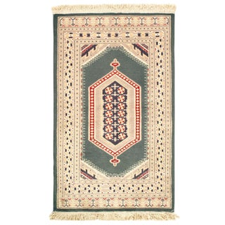 Pasargad Pak Bokhara Hand-Knotted Rug - 2′8″ × 4′4″ For Sale
