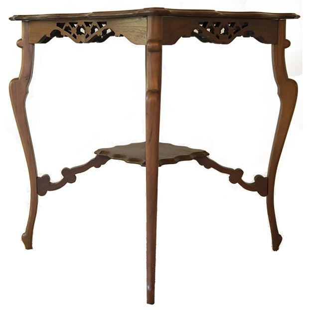Wooden Occasional Table - Image 5 of 5
