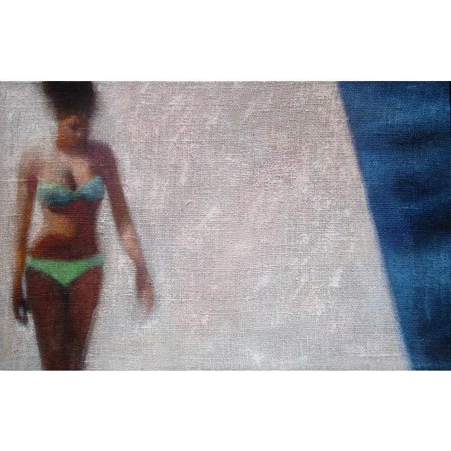Girl in a Green Bikini - Image 1 of 6