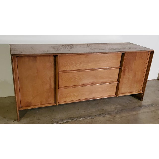 Mid-Century Modern 1950s T. H. Robsjohn-Gibbings Credenza for Widdicomb For Sale - Image 3 of 13