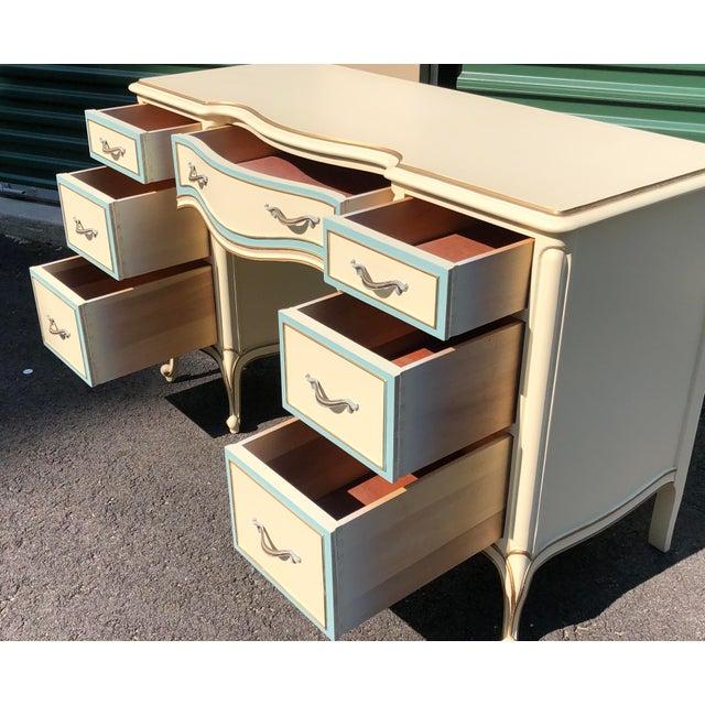 Drexel French Provincial Desk Vanity For Sale In Boston - Image 6 of 10