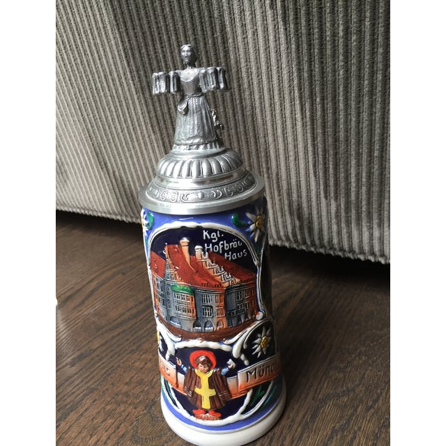 Limited Editon Thewalt Porcelain Beer Steins - Set of 3 For Sale In Chicago - Image 6 of 13