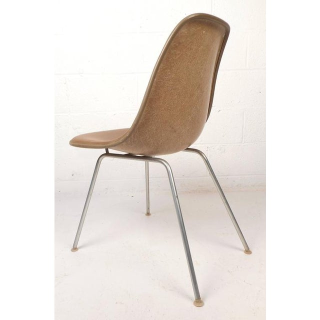 Mid-Century Modern Fiberglass Shell Chairs by Herman Miller - Set of 5 - Image 4 of 9
