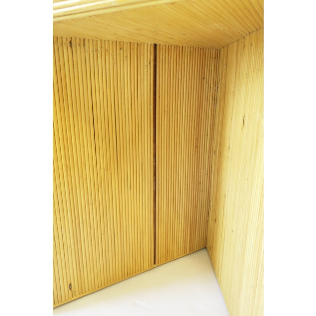 Wicker Rattan Pencil Reed End Tables Nesting Tables For Sale - Image 12 of 13