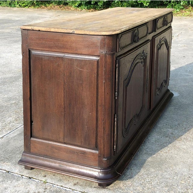 Early 19th Century French Provincial Buffet was designed to hold a place of honor in the family's most-often used room....