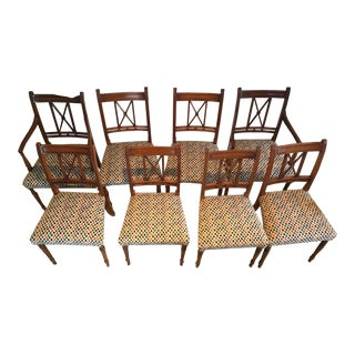 Diamond Upholstered Dining Chairs - Set of 8