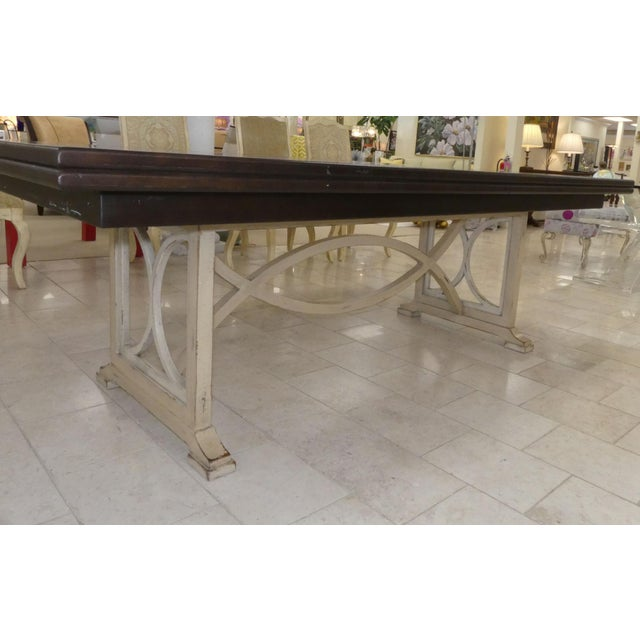 Wood Habersham Tribeca Dining Table For Sale - Image 7 of 13