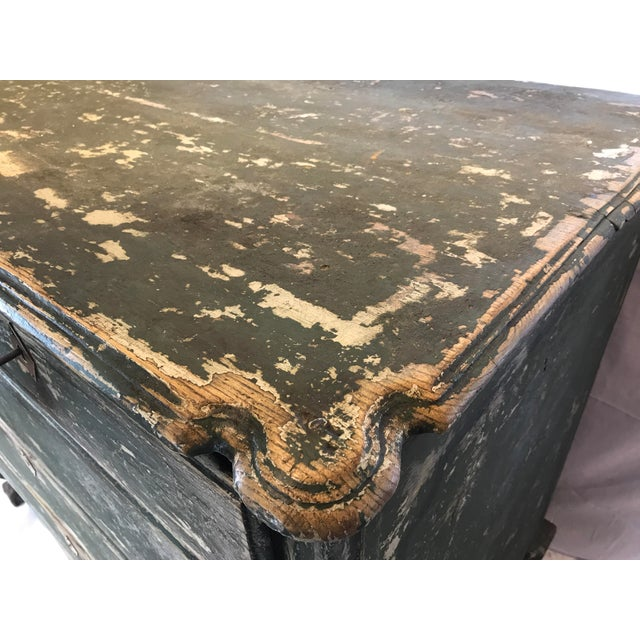 French 18th-c. Commode w/ Original Paint For Sale - Image 9 of 10