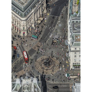"""""""Picadilly Circus I"""" Contemporary Limited Edition Fine Art Photograph Print by Bernhard Lang For Sale"""