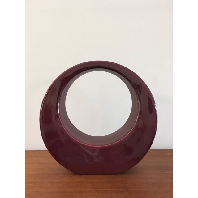 Jaru Geometric Ceramic Modernist Sculpture - Image 2 of 6