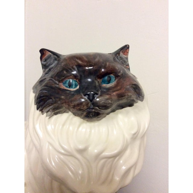 Antique Porcelain Cat - Image 9 of 9