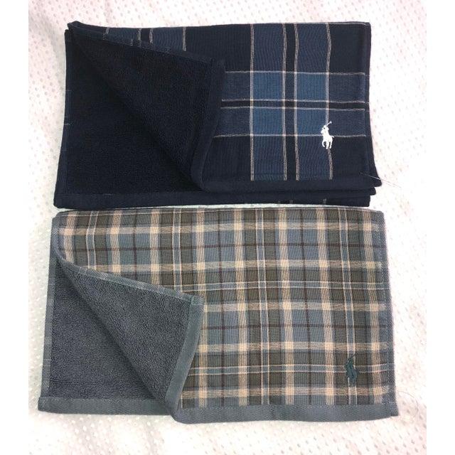 Ralph Lauren Tartan Plaid Polo Hand Towels - Image 2 of 6