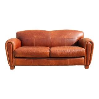 Vintage Thomasville Leather Sofa
