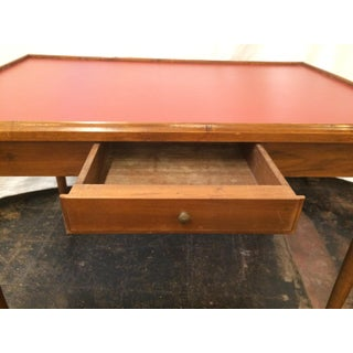 French Walnut Directoire Game Table Preview