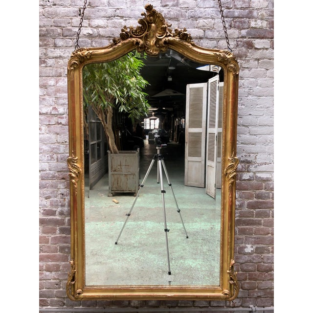 Louis XV Mirror , 19th Century For Sale - Image 6 of 9