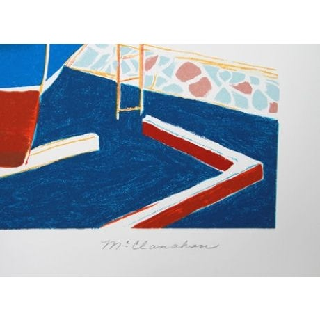 Artist: Marion McClanahan Title: Dry Dock Year: 1979 Medium: Lithograph, signed and numbered in pencil Edition: 300 Image...