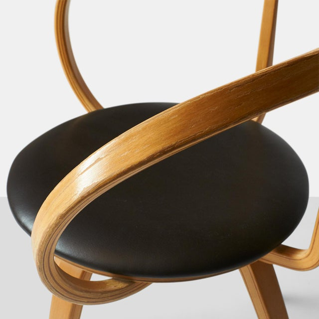 very rare George nelson pretzel chairs - a pair For Sale In San Francisco - Image 6 of 8