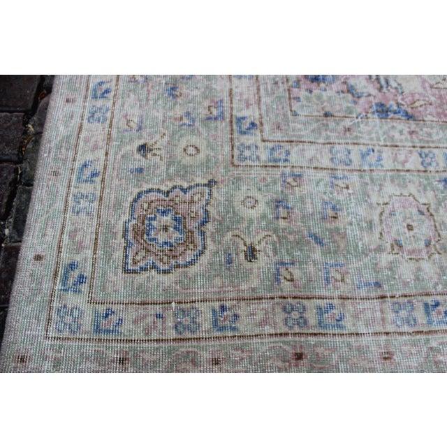 Vintage Sivas Turkish Wool Rug - 8′1″ × 11′1″ For Sale In Los Angeles - Image 6 of 8
