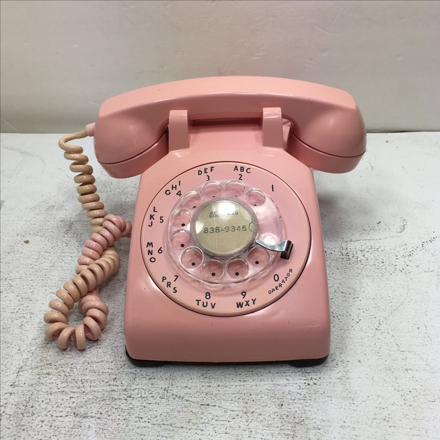 Pink 1961 Date Matched Telephone - Image 2 of 10