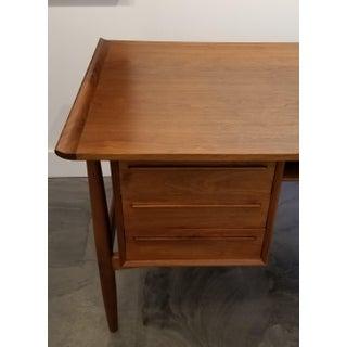 Teak Danish Modern Desk Attributed to Arne Vodder Preview