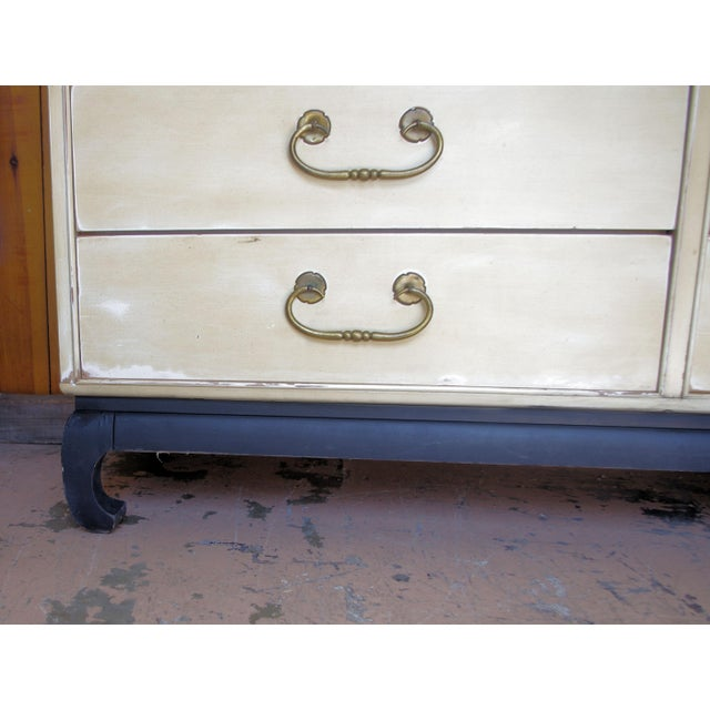1960s Mid-Century Modern Kent Coffey Amerasia Series Solid Wood Dresser For Sale - Image 9 of 11