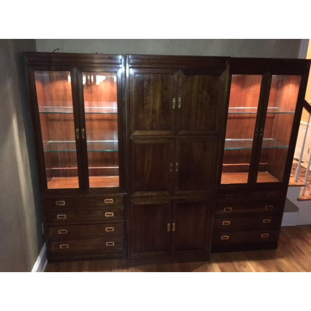 Ethan Allen Canova Collection Wall Unit - Image 9 of 9