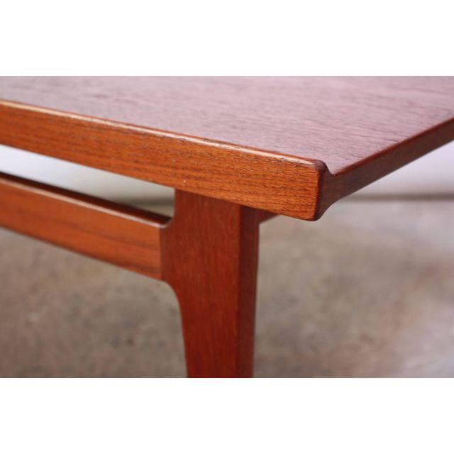 Early Finn Juhl for France and Daverkosen Teak Coffee Table For Sale - Image 9 of 11