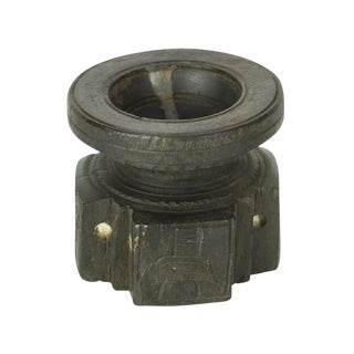 Ebonized Tribal Bijani Candleholder For Sale