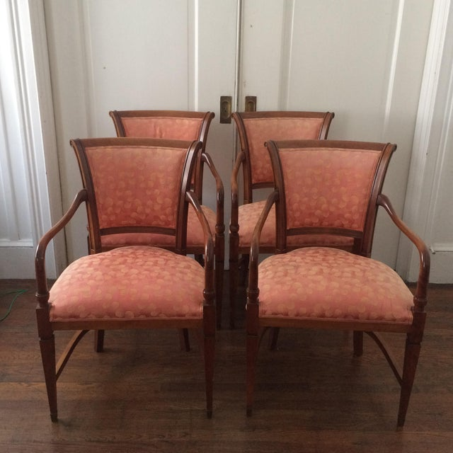 Annibale Columbo Italian Dining Chairs - Set of 4 - Image 2 of 11