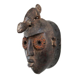 Burkina Faso Bobo Chameleon Mask